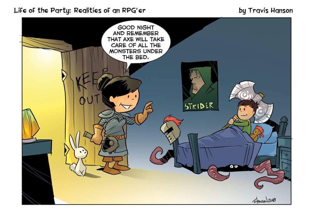 RPG parents  by travisJhanson