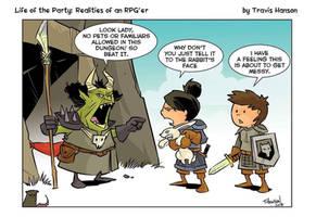 Dungeon rules by travisJhanson