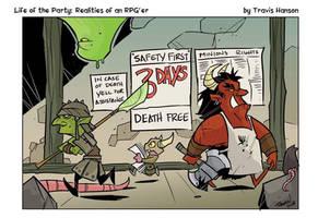 Dungeon safety by travisJhanson