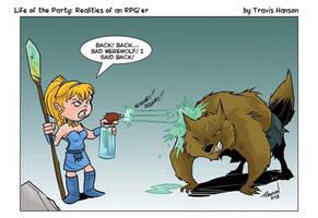 Werewolf control by travisJhanson