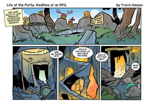 Lotp : dungeon crawling (1/5)