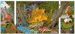my stegosaurus highlights 2 by travisJhanson