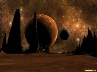 barren world by EnthroneD