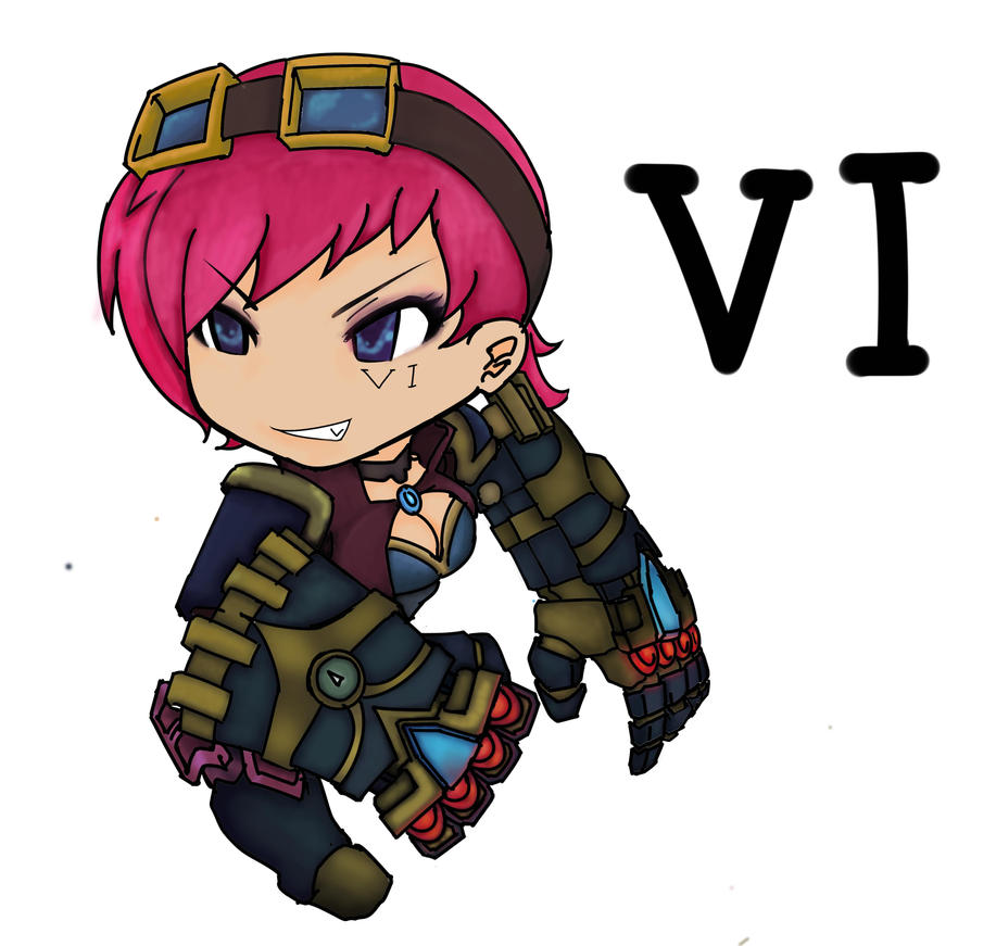 Vi - League of Legends by Lemerie on DeviantArt