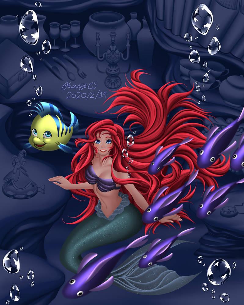 The little Mermaid OrangeCS