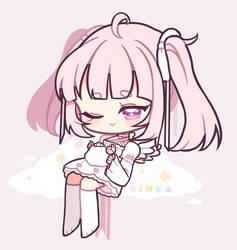 OC: [ Angel Cake ] by nemuui