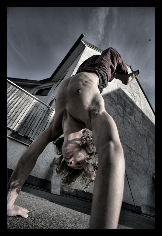 handstand by Jabolka
