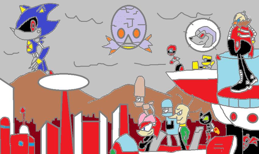 The Real Eggman Empire By Frostthehobidon On Deviantart