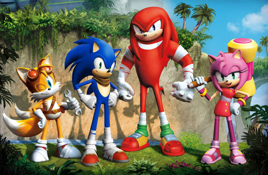 Sonic Boom Official Design