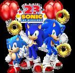 Happy 23rd Anniversary Sonic the Hedgehog