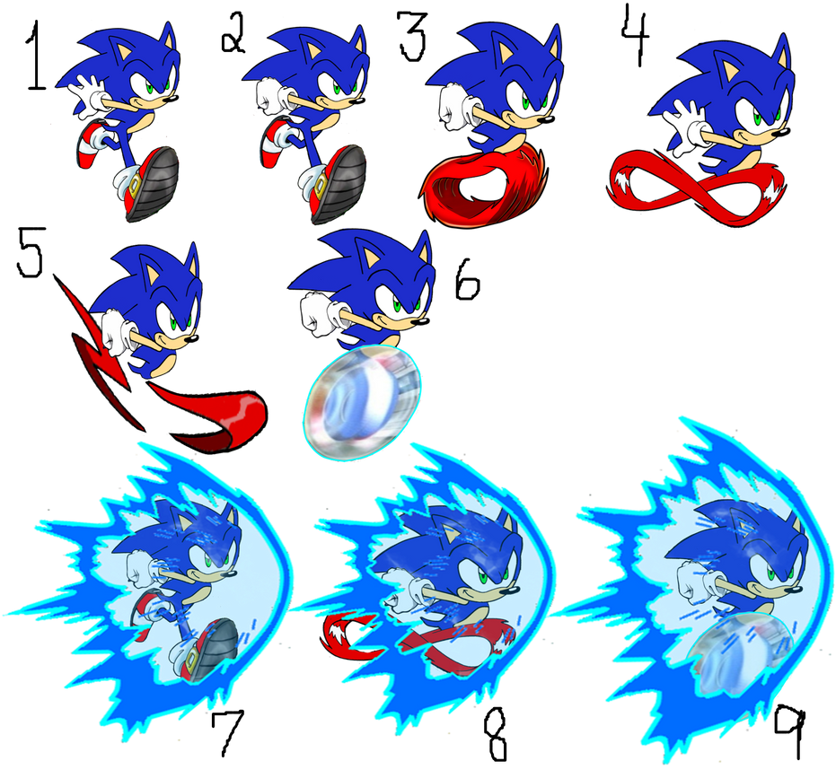 Sonic Running Shoes