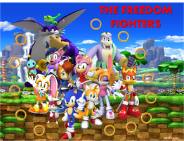 Fight for Freedom with the Freedom Fighters by FrostTheHobidon
