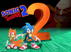 Sonic the Hedgehog 2 Satam poster by FrostTheHobidon