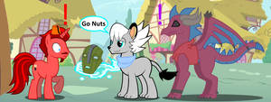 MLP: What can go Wrong? XD by FrostTheHobidon