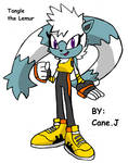 IDW Sonic Character: Tangle the Lemur by FrostTheHobidon