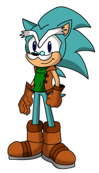 Mobius Universe: SirCharles (Uncle Chuck) Hedgehog by FrostTheHobidon