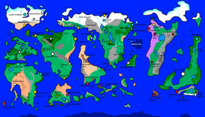 Glaze World Map: Frost's New World