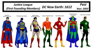 DC Earth: 1612 Justice League (Year 2003)