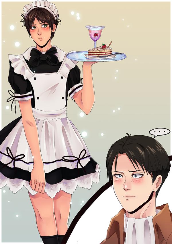 Levi's Maid by firegirl6464