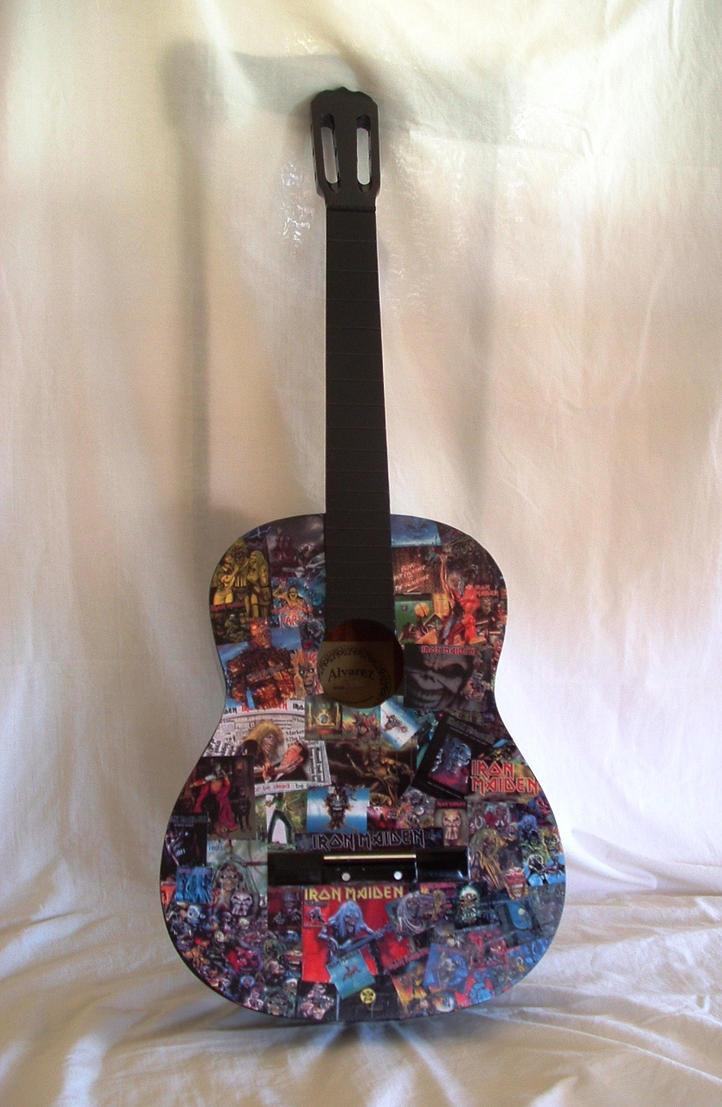 Iron Maiden Guitar..full photo by oche