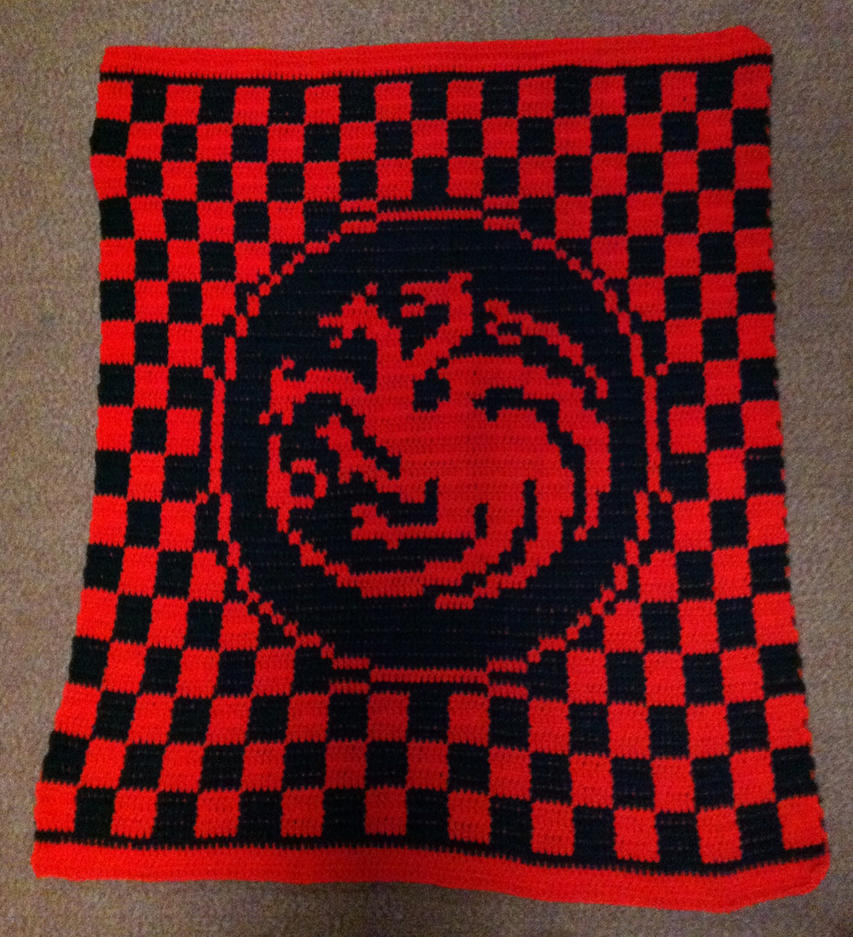 House Targaryen Banner Blanket by Shywalker