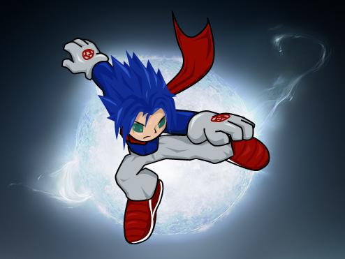 Moon kick by KingTaro by LordTaro