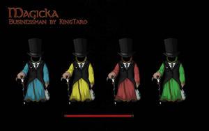 Businessman design by KingTaro by LordTaro