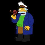 Sea Captain Horatio - The Simpsons