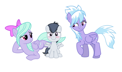 Surrounded by beautiful mares by LunaticDawn