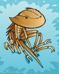 Horseshoe Crab by andrea-koupal