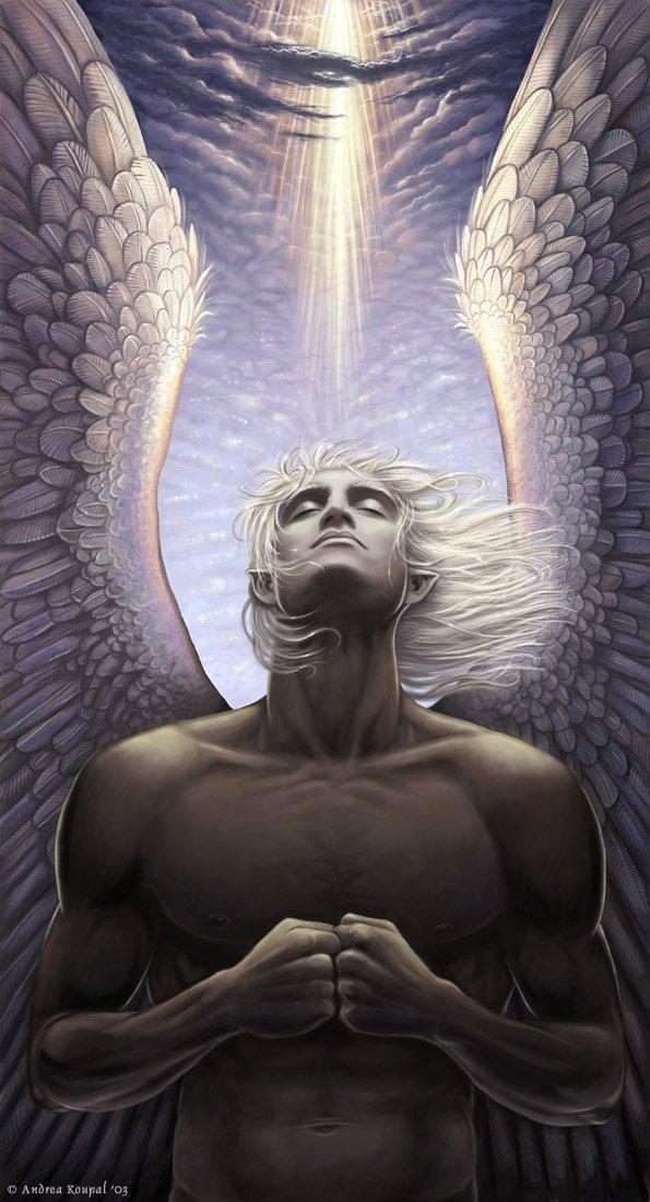 sariel fantasy digital art