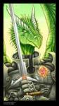 Arc Nova, defender of dragons