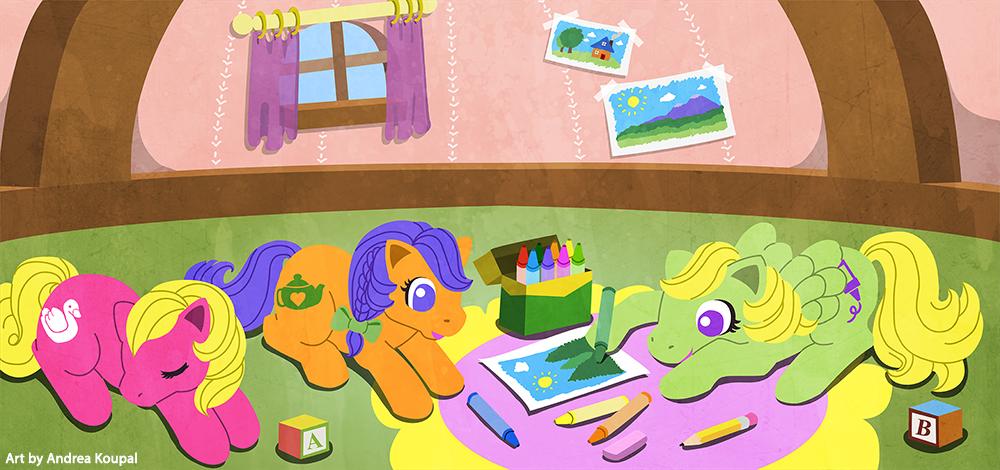 Petite Ponies by andrea-koupal