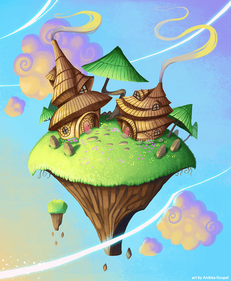 Floating Island by andrea-koupal
