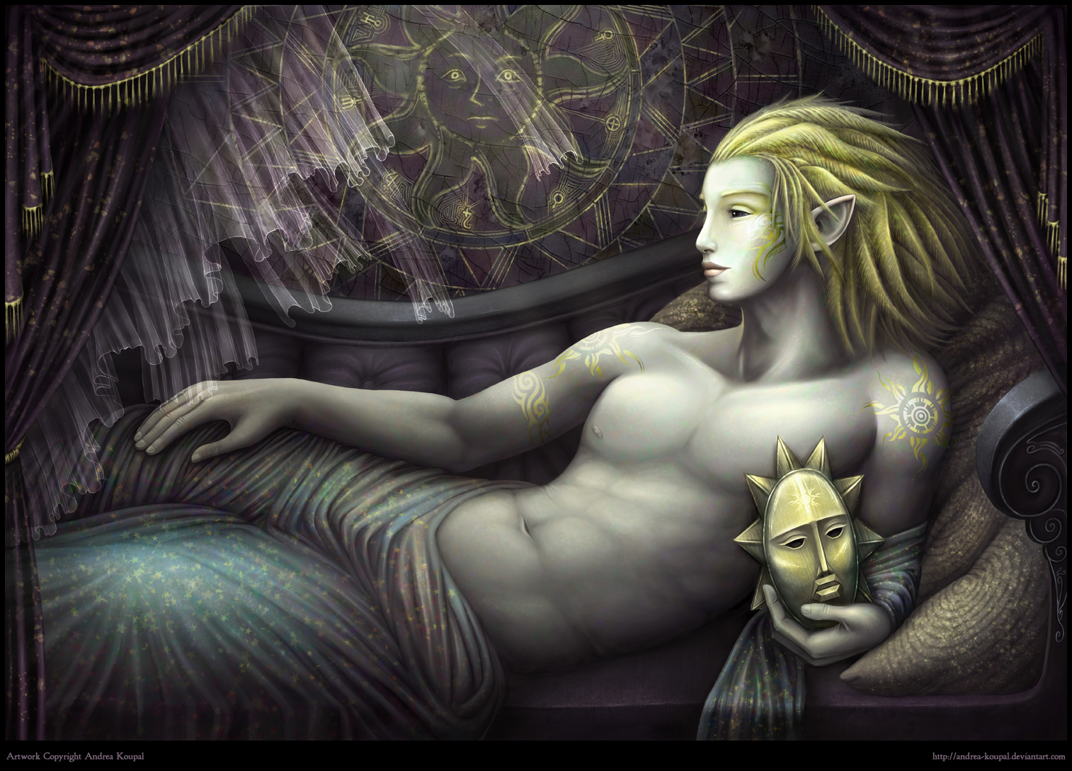 Gali of Golden Stars by andrea-koupal