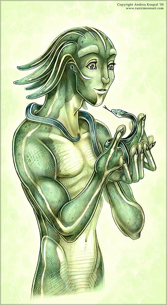 Drawing of Mekkul by andrea-koupal