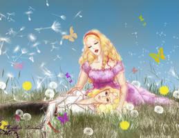 Spring by Fukiko Elbereth by rosesneverfall