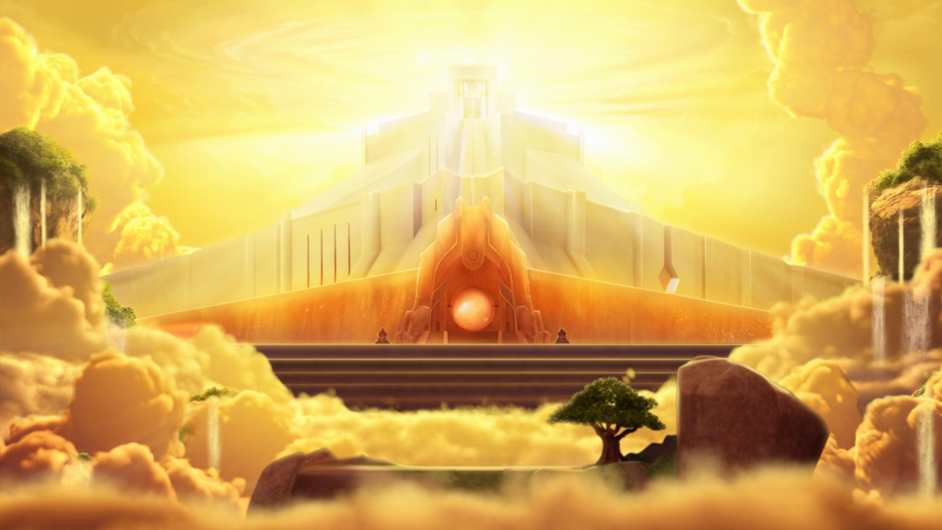 Superbook's Heaven #2 ceasle of God by AngeloVergil on ...