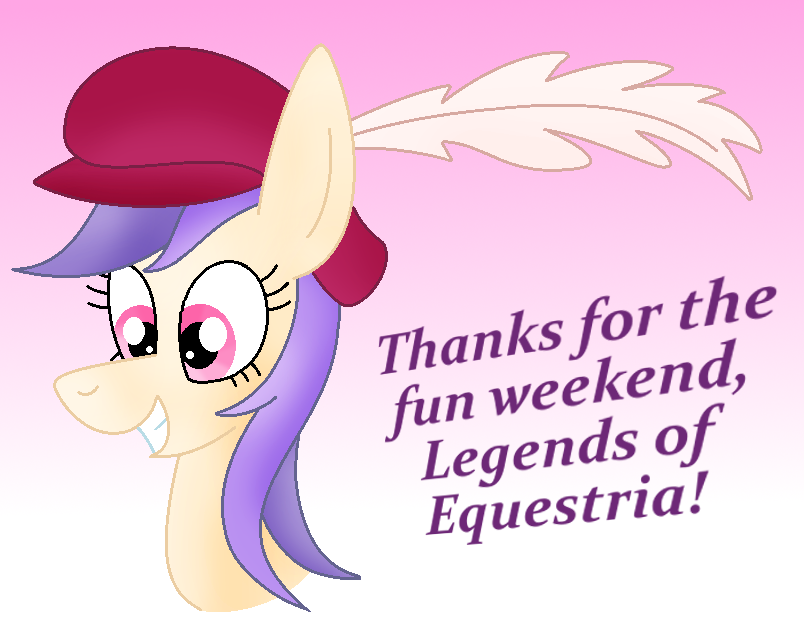 Thank You, Legends of Equestria! by Zoruaofepic
