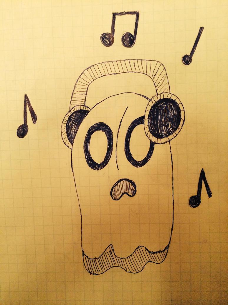 (Doodle) Napstablook by Zoruaofepic