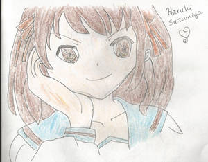 Haruhi Suzumiya Fanart