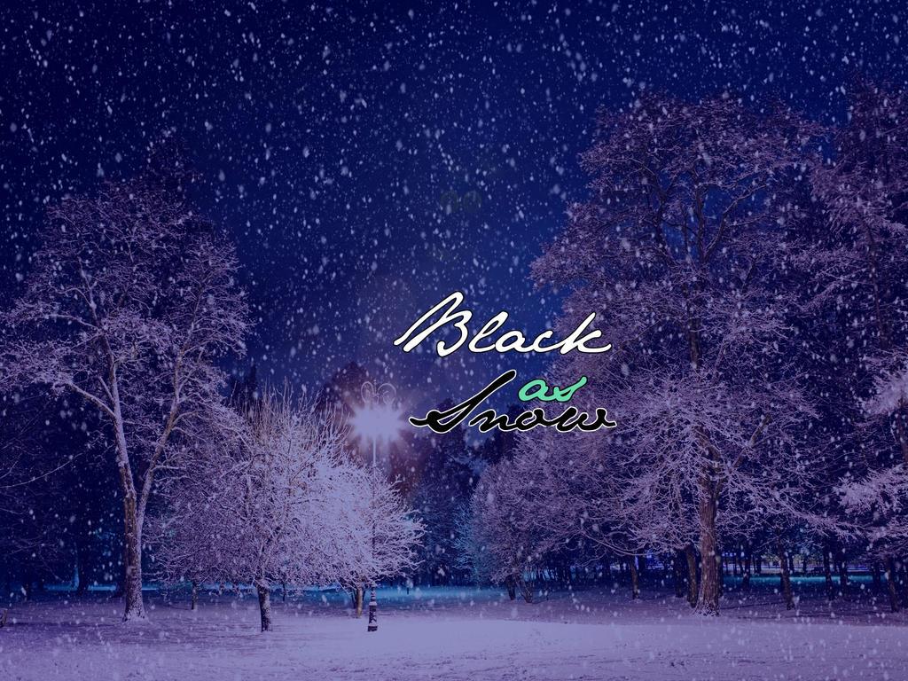 Black as Snow Cover Photo by breep5