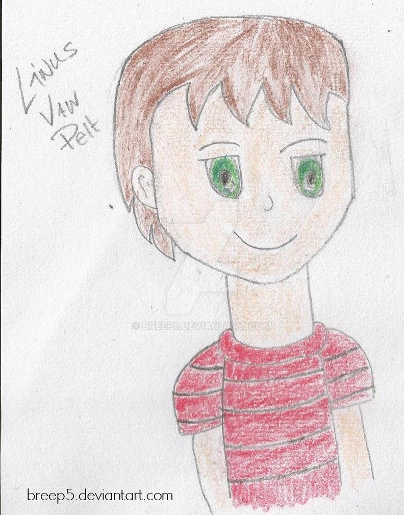 Linus Van Pelt Fanart by breep5