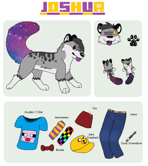 .:Joshua Klepacs Reference Sheet:. by M0N0KUMA