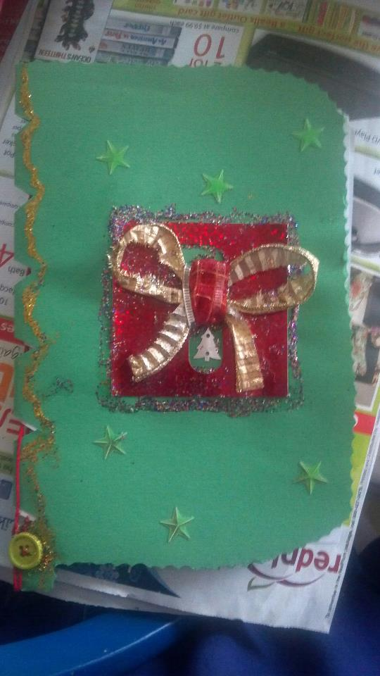 DA Holiday Card Project - Made by Rae 2 Cover by CalicoWoolfe