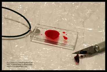 Dexter Blood Slide Pendant
