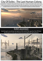 City Of Exiles - The Last Human Colony by spartanx118