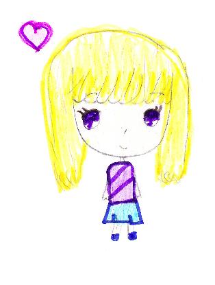 Chibi Girl Short Blonde Hair By Livy111 On Deviantart