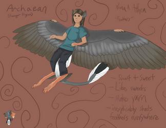 Archaean ref Nina by Dragondealer