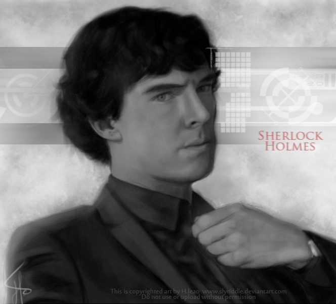 Sherlock Holmes by h-leao